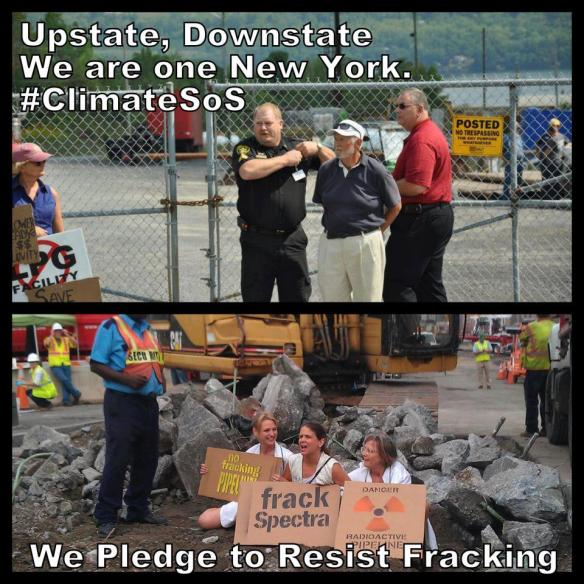 Frack Protests in Albany & NYC