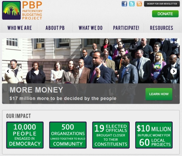 Participatory Budgeting NYC