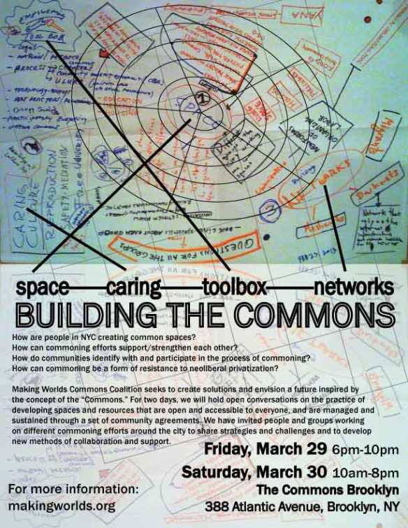 Making the Commons