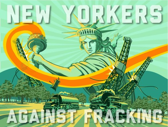 New York Crossroads: Rally to Stop Fracking and Demand Renewable Energy